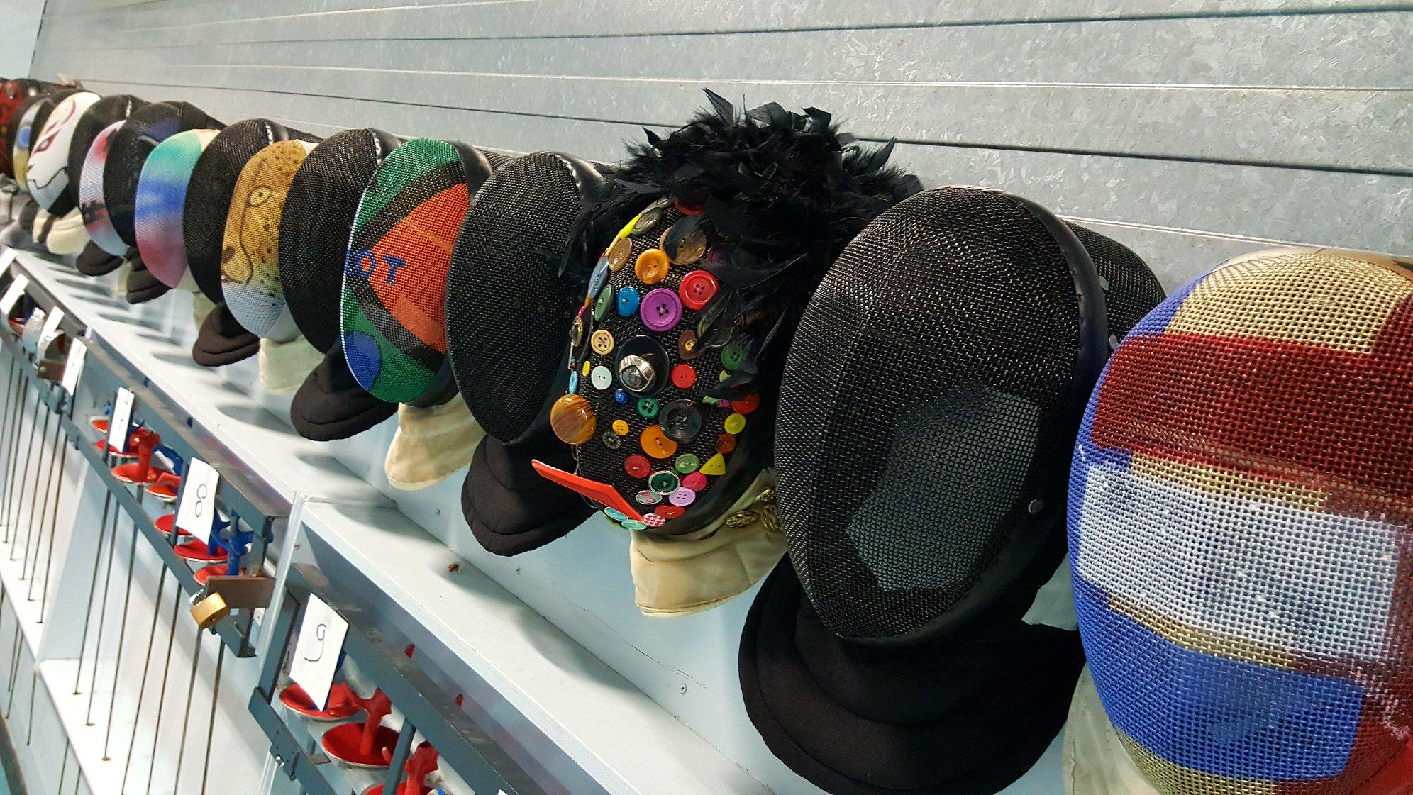 verzameling maskers
