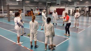 Training sabel Georges Derop