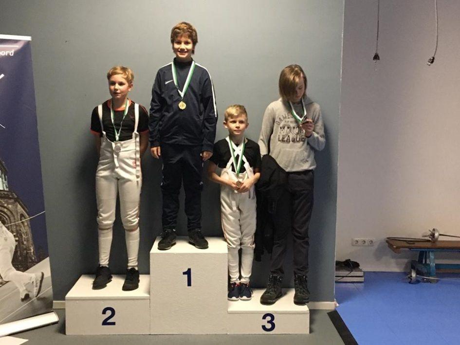 Sam in Groningen 1e senioren